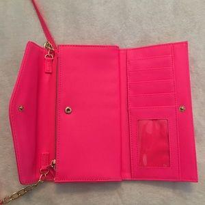 VS wallet with shoulder strap